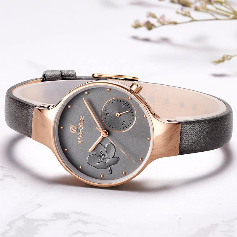 Naviforce SW5001 - Rose Gold Grey