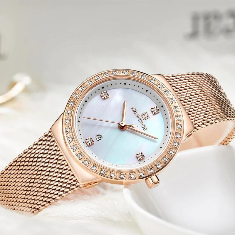 Naviforce SW5005 - Rose Gold - Statement Watches