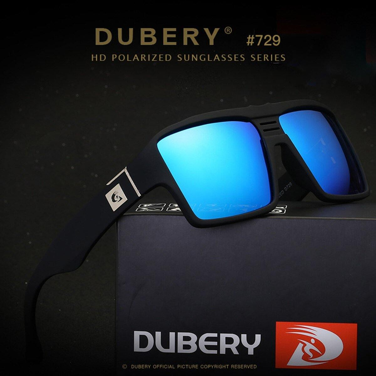 Dubery D729 Polarized Blue - Statement Watches