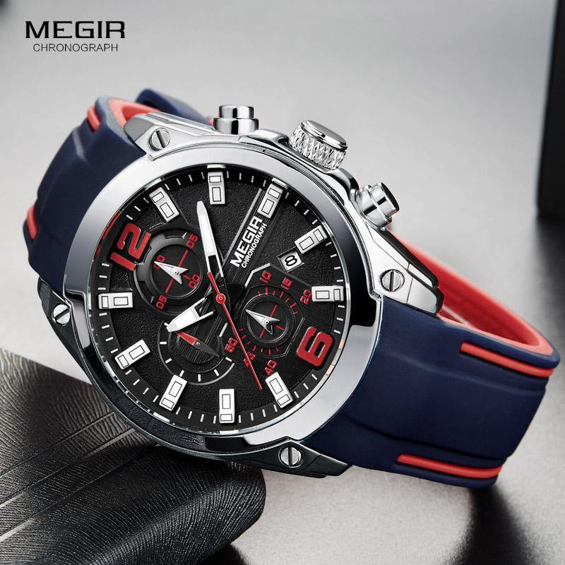 Megir SW2063 Chronograph - Statement Watches