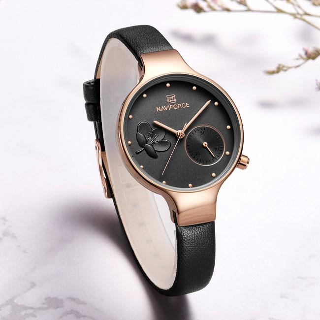 Naviforce SW5001 - Rose Gold Black