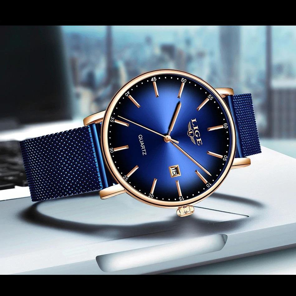 Lige SW9934 Blue - Statement Watches