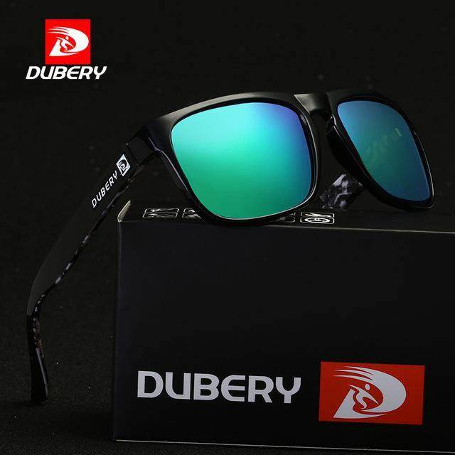 Dubery D730 Polarized Black/Green - Statement Watches