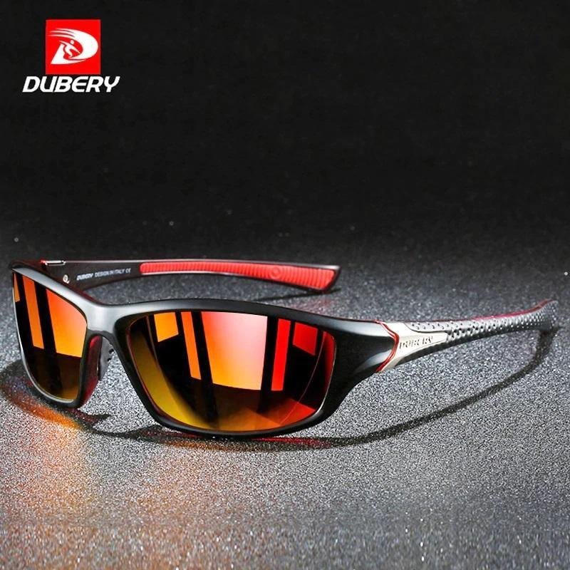Dubery D120 Polarized Orange/Red - Statement Watches