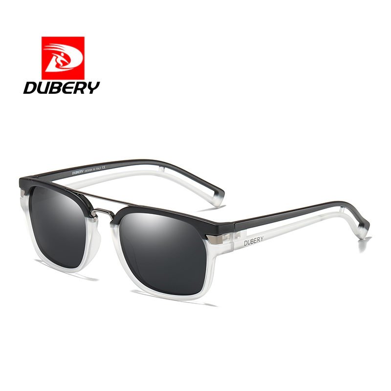 Dubery D1948 Polarized Black/White