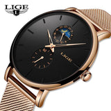 Lige SW9955 Rose Gold - Statement Watches
