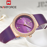 Naviforce SW5005 - Purple - Statement Watches