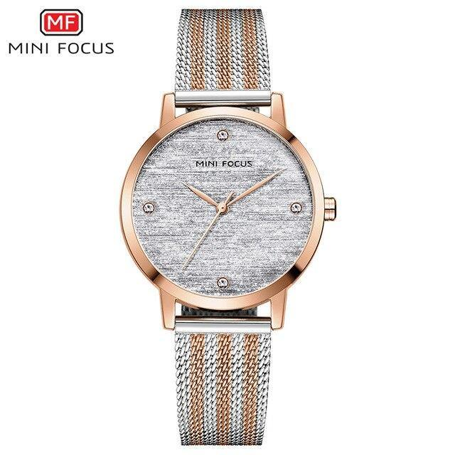 Mini Focus SW0329 - Rose Gold - Statement Watches