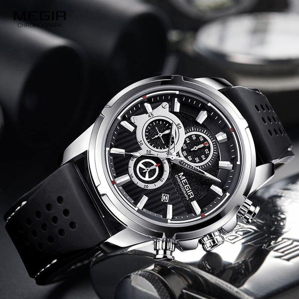 Megir SW2101 Chronograph - Statement Watches