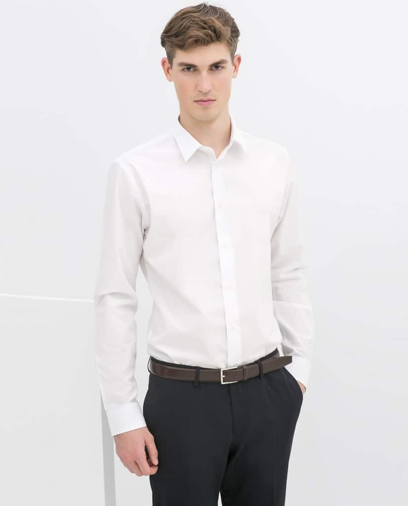 chemise blanche vierge a personnaliser broderie sur mesure homme