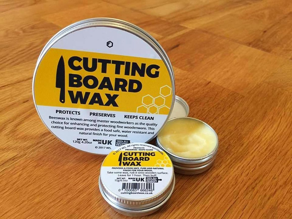 Cutting Board Wax 120g Natural Wood Wax For Cutting Boards Chopping Blocks And Butcher Block
