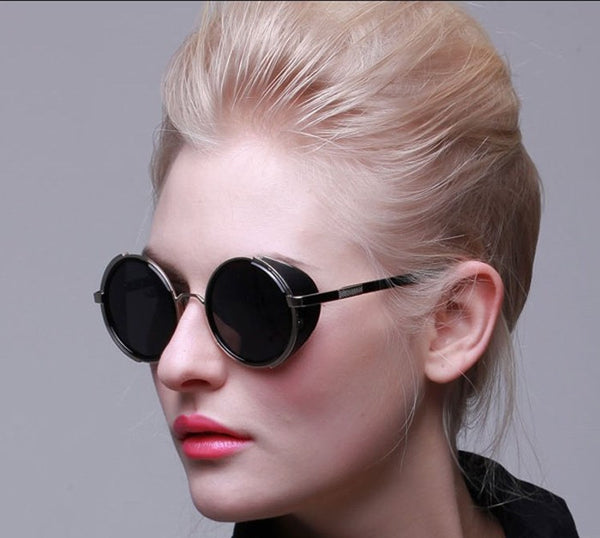 Retro Unisex Steampunk Sunglasses