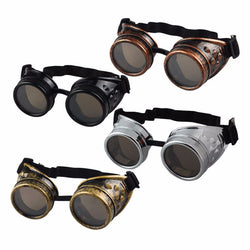 Steampunk Gothic Goggles Glasses