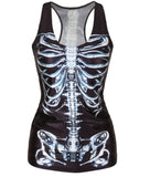 3D Printed Novelty Vest Tank Tops - Free Shipping - My Gothic Addiction