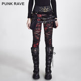 PUNK RAVE Broken Mesh Leggings
