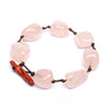 Amaranthine Statement rose quartz bracelet