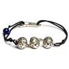 BLACK Three botuni bracelet