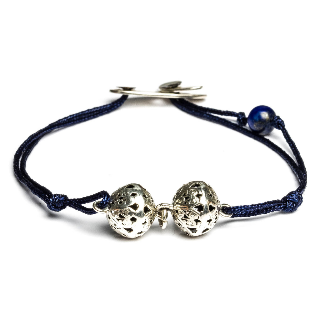 MIDNIGHT BLUE Two botuni bracelet