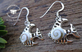 shiva eye shell marine jewellery, sea lovers, 925 silver