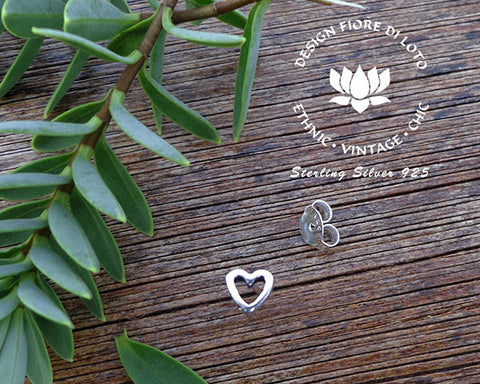romantic heart silver studs wedding jewelry love heart studs post earrings silver studs silver hearts