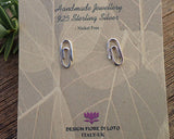 stationary themed jewellery, 925 silver