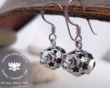 925 silver pig earrings, porcine, farm life