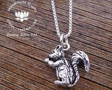 925 silver squirrel jewelry