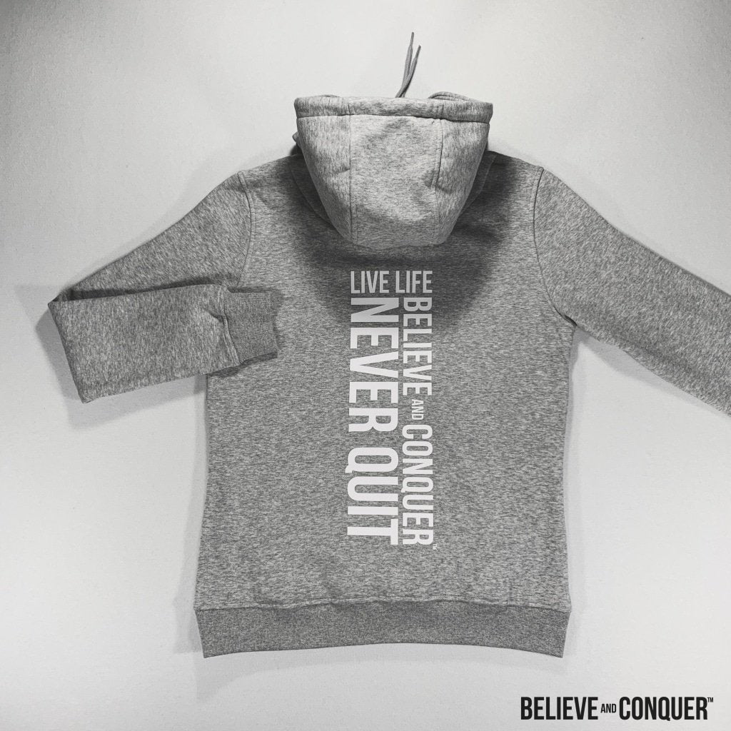 Alpha Girl Hd Hoodie | Silver Edition S Womens Tops