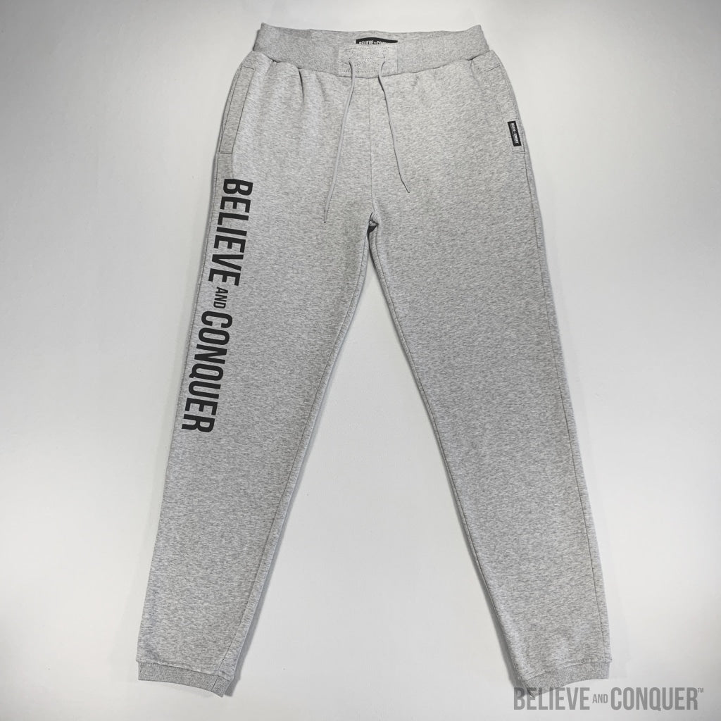 Alpha Man Hd Track Pants Small / Grey Mens Bottoms