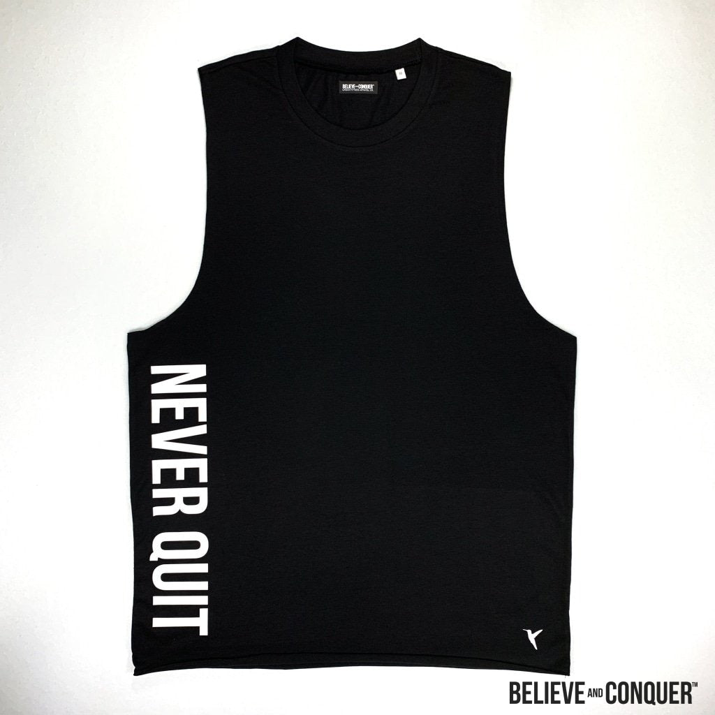 Raw Core Series | Never Quit Vest - Black Edition Small Mens