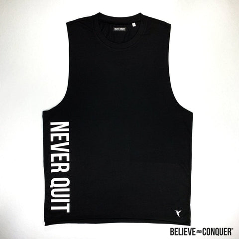 Raw Core Series | Never Quit Vest - Black Edition