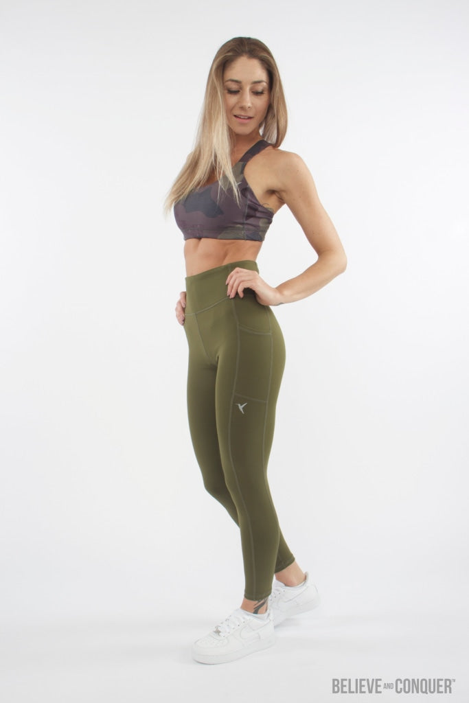 Trek High Waisted Leggings Xs