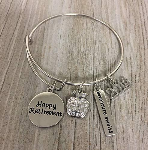 2019 Teacher Retirement Bracelet