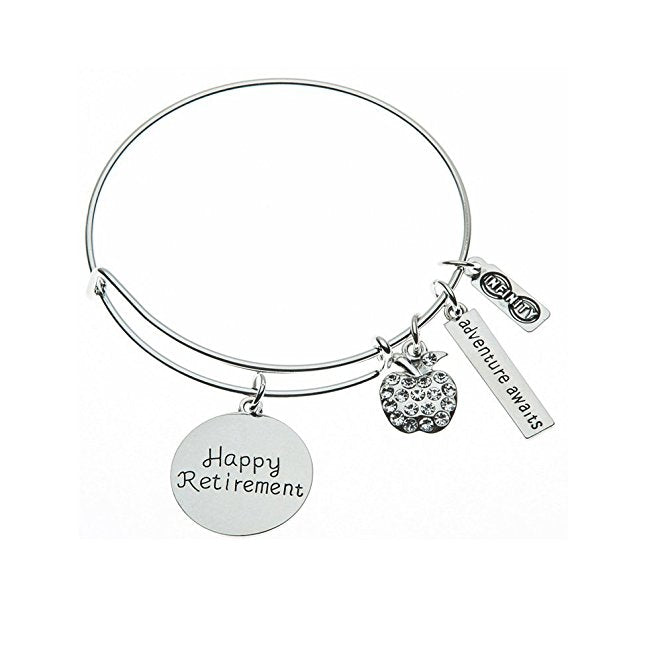 Teacher Retirement Bracelet