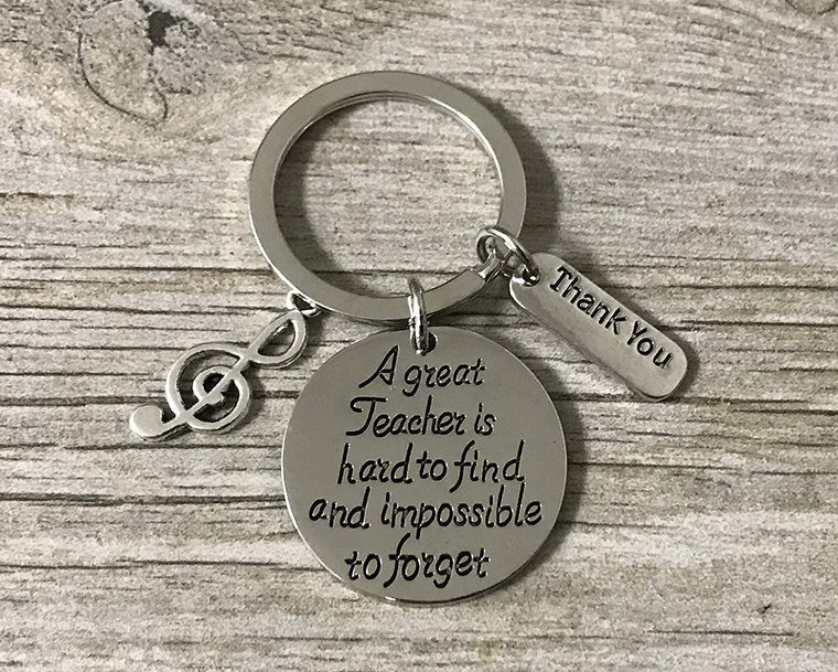 Music Teacher Keychain