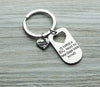 Teacher Big Heart Little Minds Keychain