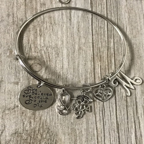 Personalized Medical Assistant Bracelet
