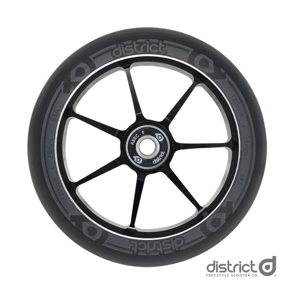 District Scooters 120mmx28mm Dual Width Core W120 Wheel