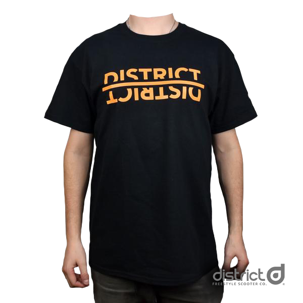District Mirror Tee - Black