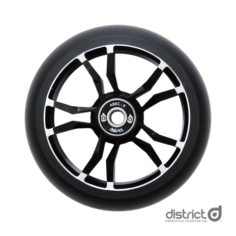 District Scooters 120mmx30mm LM120 Wide Milled Core Wheel