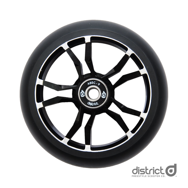 District Scooters 110mmx30mm LM110 Wide Milled Core Wheel