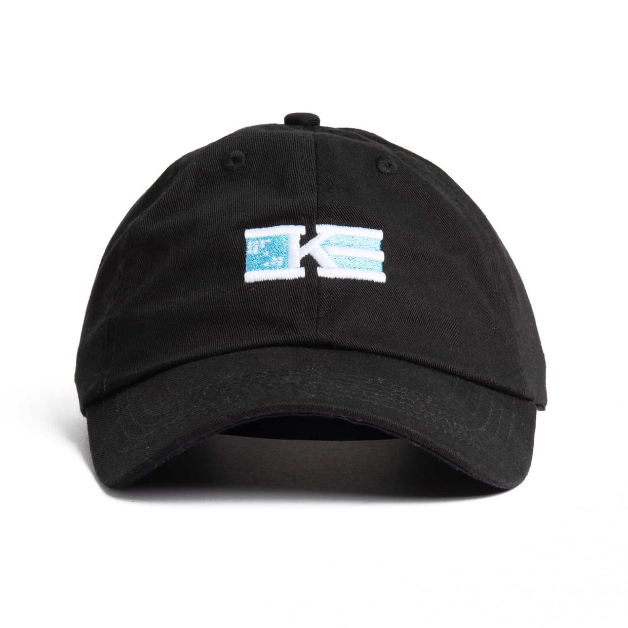 'Flag' Logo Dad Hat - Black