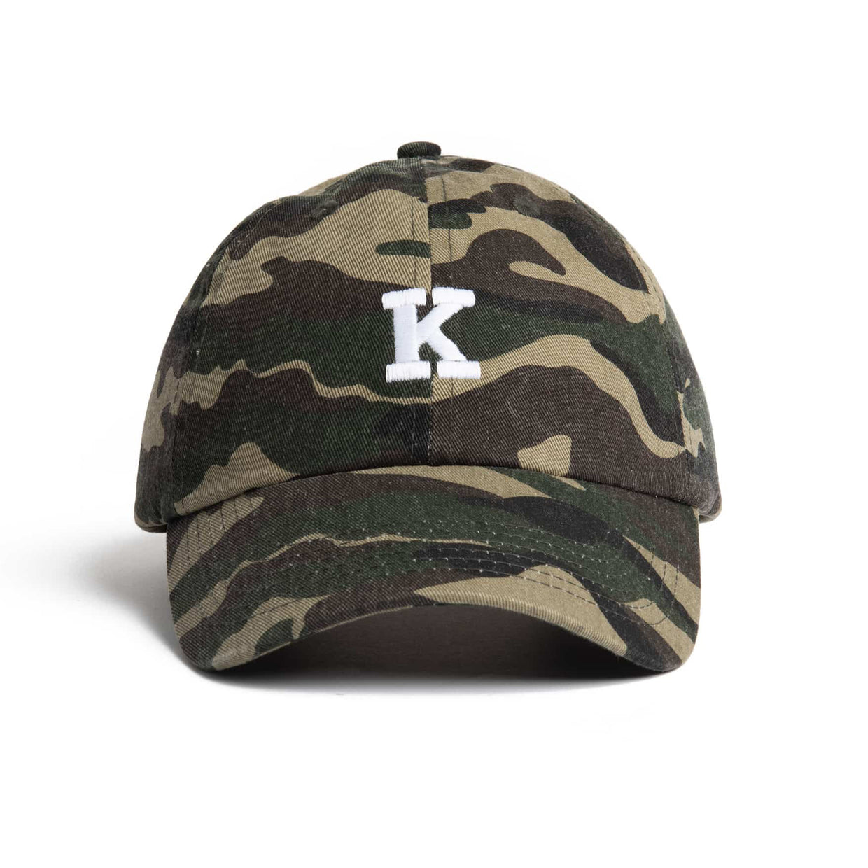 'K' Logo Dad Hat - Camo