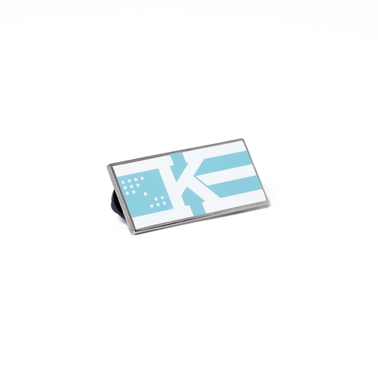 'Flag' Logo  Enamel Pin