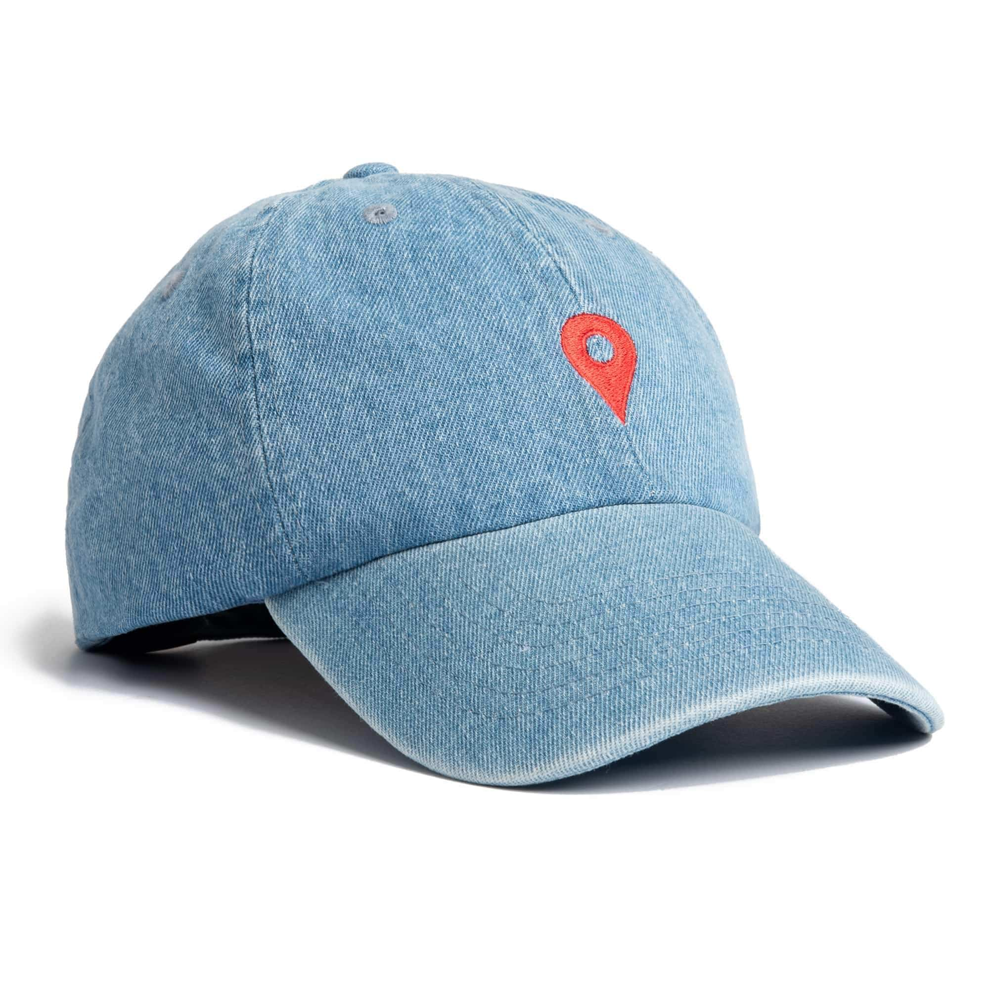 Denim Location Dad Hat