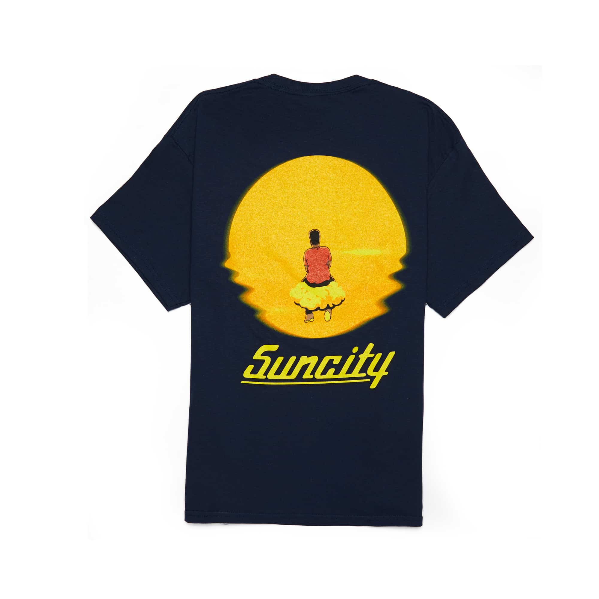 'Suncity' Tee + Digital Download - Navy