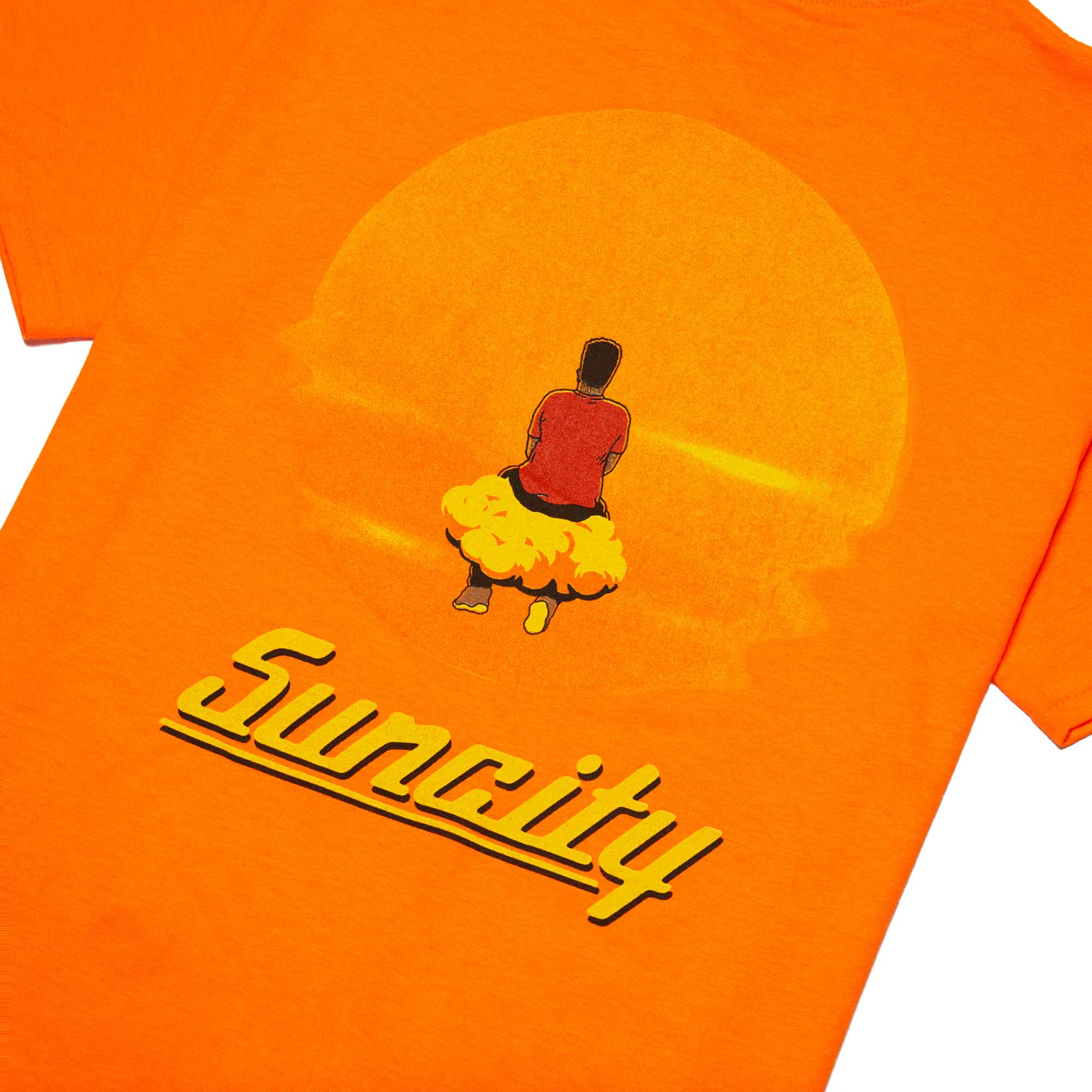 'Suncity' Tee + Digital Download - Orange