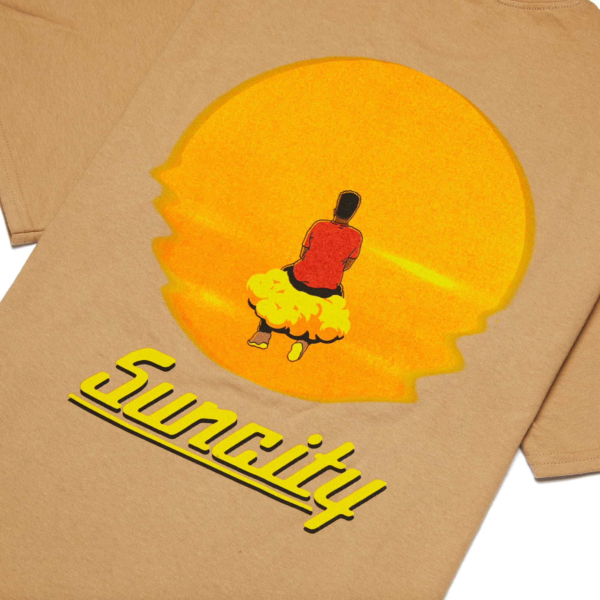'Suncity' Tee + Digital Download - Sand