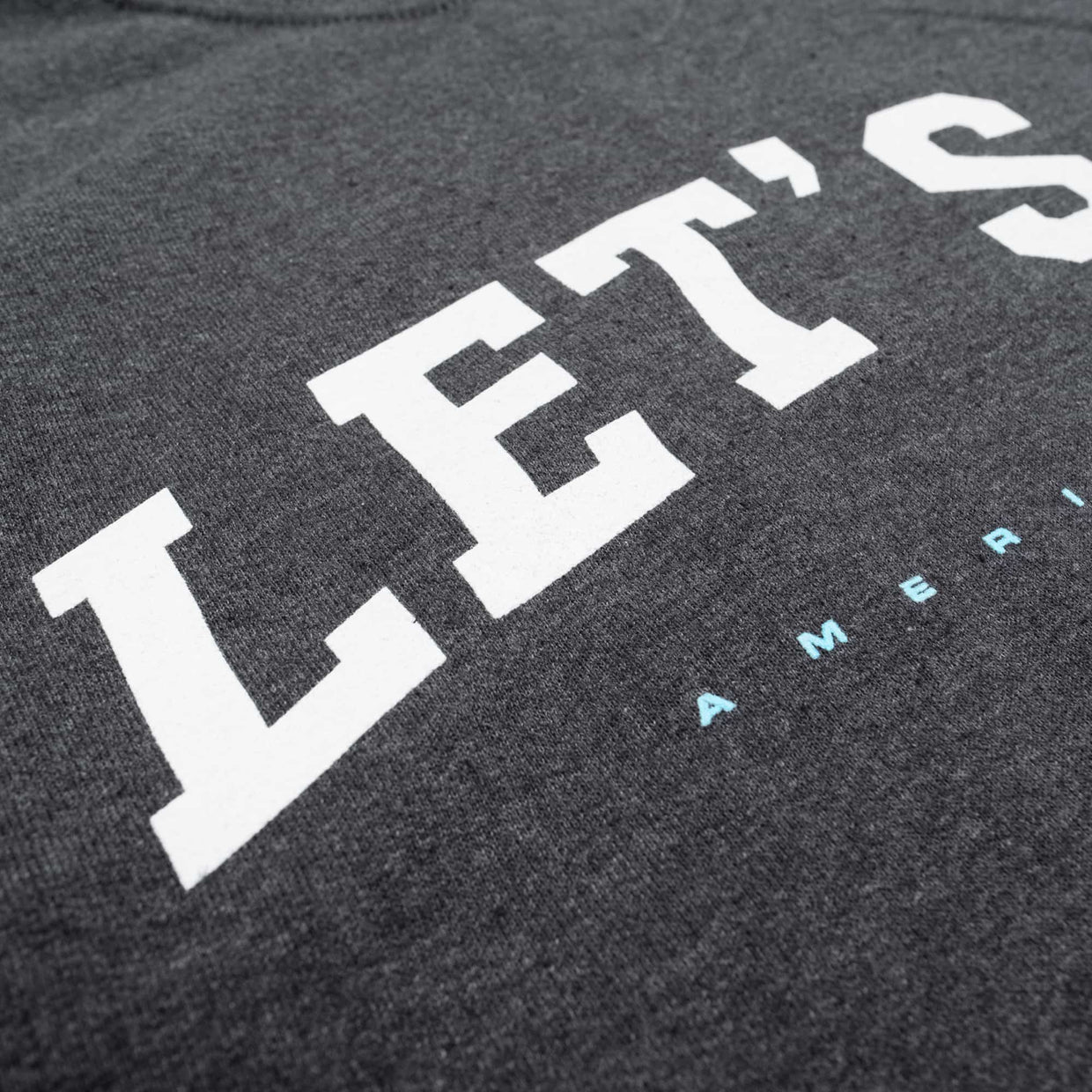 'Let's Go' Crew Fleece