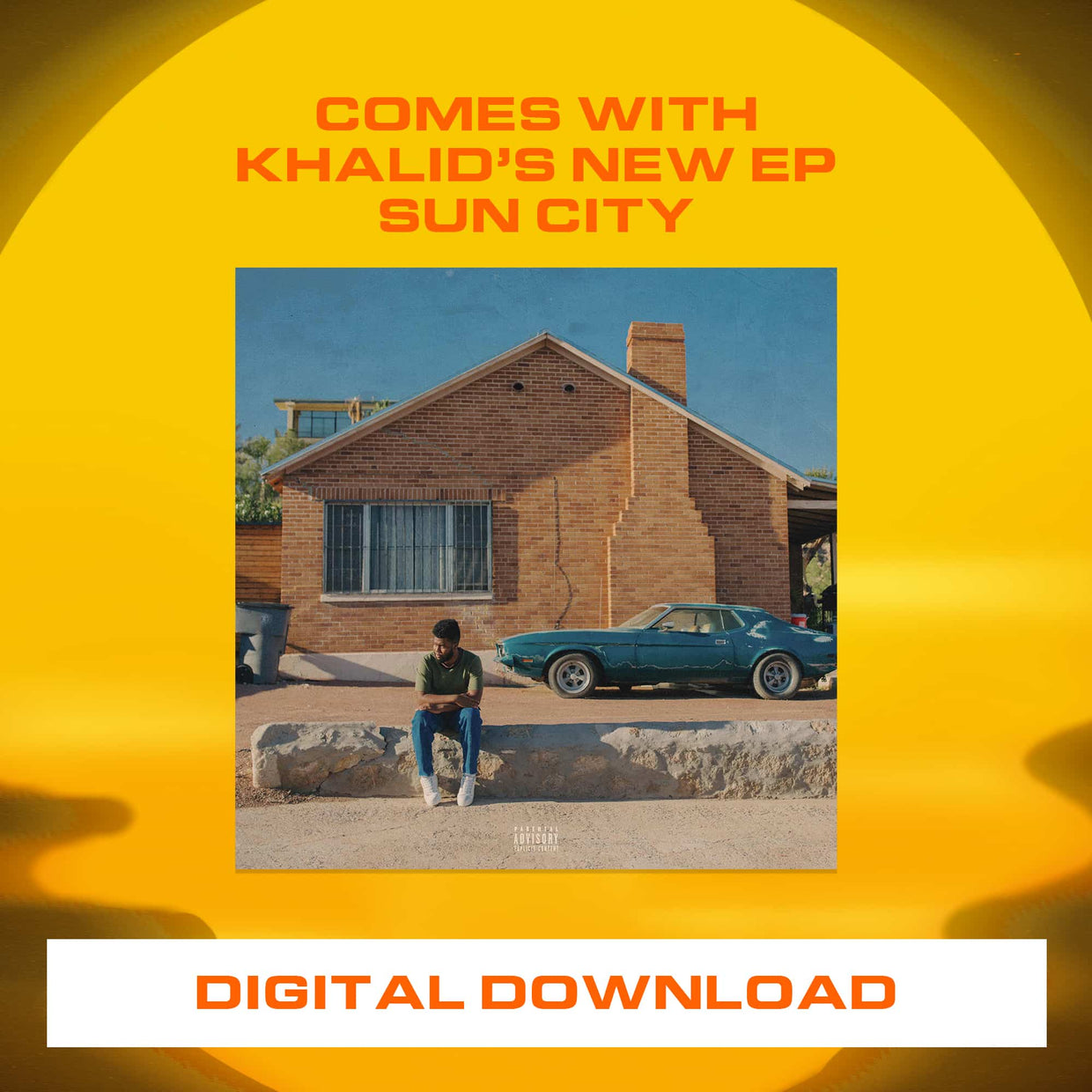 'Suncity' Dad Hat + Digital Download - Chocolate